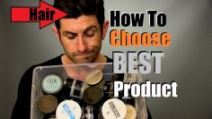How To Choose A Men's Hair Styling Product